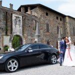 Noleggio auto con conducente per matrimoni - Saettadrivercar